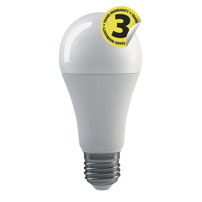 Emos LED žárovka Classic A67, 20W/150W E27, WW teplá bílá, 2452 lm, Classic A+