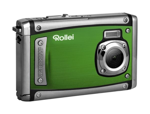 "Rollei Sportsline 80/ 8 MPix/ 8x zoom/ 2,4"" LCD/ Vodotěsný do 3 m/ FULL HD video/ Zelený"