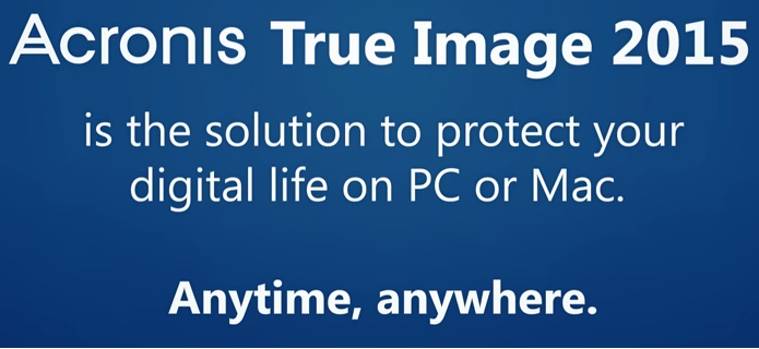 Acronis True Image 2018 - 1 Computer - Upgrade BOX CZ