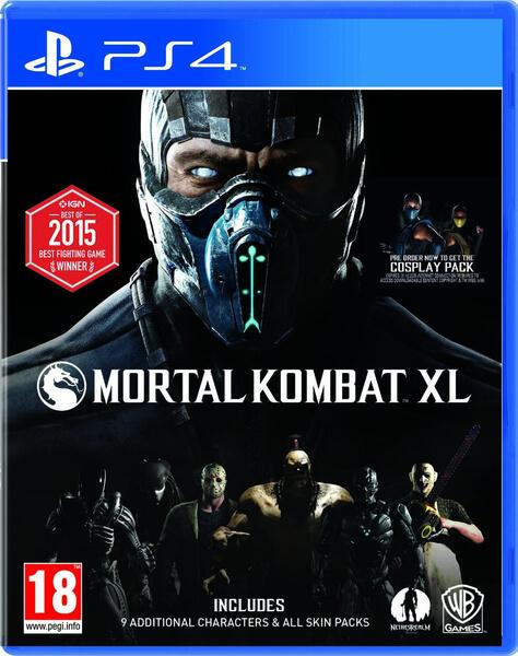 Warner Bros. PS4 hra Mortal Kombat X