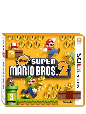 Nintendo 3DS hra New Super Mario Bros. 2