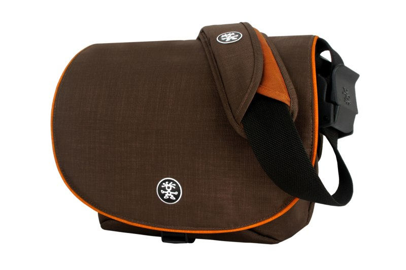 Crumpler NEW DELHI 390 - warm oatmeal / pumpkin orange