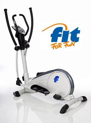 Crossový trenažer FIT FOR FUN Crosstrainer Ergometer CT 10