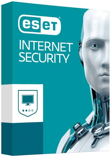ESET Internet Security - 1 instalace na 1 rok