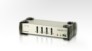 ATEN KVM switch CS-84U,USB Hub, 4PC