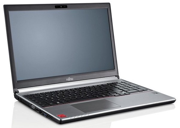 "Fujitsu LIFEBOOK E756 non-vPro i5-6200U/4GB/500GB HDD/DRW/Mobile Intel® HD520/15.6"" FHD/FP/TPM/W10Pro+W7Pro"
