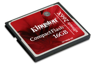 Kingston CompactFlash karta 16GB Ultimate 266x, 40/45MB/s, MediaRECOVER SW
