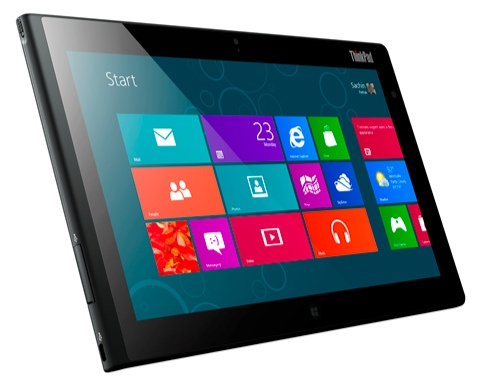 "Lenovo ThinkPad Tablet2 Intel Atom/64GB/10,1""HD/3G/miniHDMI/USB/microSD/2xkamera/BT/Win8 3679-4HG"