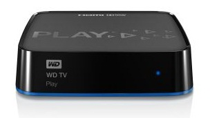 WD TV PLAY MEDIA Player WiFi N - FullHD (1080p), 1xHDMI, LAN, SPDIF, USB 2.0