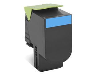 Toner Lexmark 802C |cyan | return | 1000 pgs| CX310dn / CX310n / CX410de / CX410