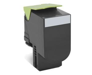 Toner Lexmark 802K black | return | 1000 pgs| CX310dn / CX310n / CX410de / CX410