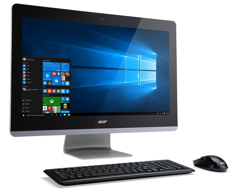 "Acer Aspire Z3-715 ALL-IN-ONE 23,8"" Touch FHD IPS LED/ Intel Core i5 7400T /8GB/1TB/DVDRW/ wifi + BT4.0 / W10 Home"