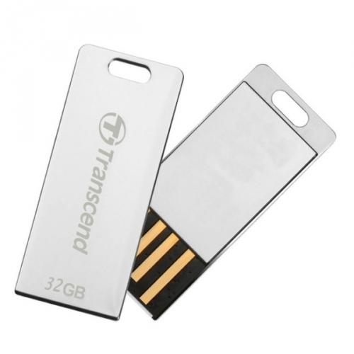 Transcend JetFlash T3S flashdisk 32GB USB 2.0, malé rozměry, odolný