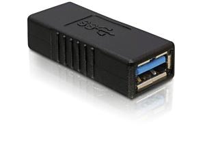 DeLock adaptér USB 3.0-A samice na USB 3.0 A samice
