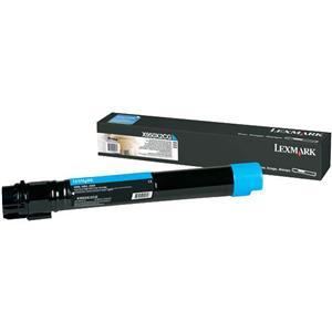 X950, X952, X954 Cyan Extra High Yield Toner Cartridge (22K)