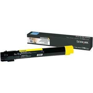 X950, X952, X954 Yellow Extra High Yield Toner Cartridge (22K)