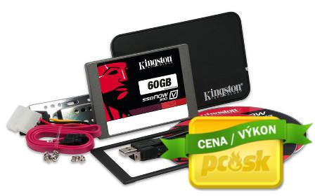 Kingston 60GB SSDNow V300 SATA 3 2.5 (7mm height) Upgrade Bundle Kit w/Adapter