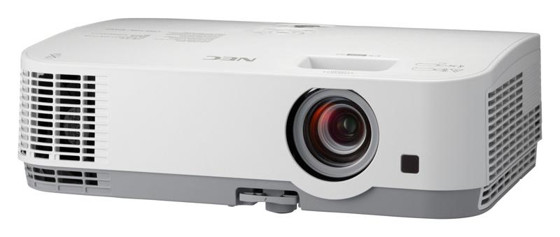 NEC Projector ME401W - LCD/WXGA 1280 x 800/4000AL/6.000:1/1x20W Repro