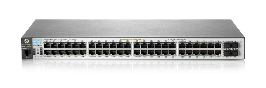 Aruba 2530-48G-PoE+ Switch - J9772A