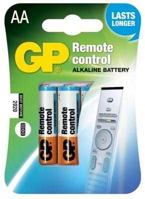 GP AA Remote Control, alkalická baterie do dálkových ovladačů - 4 ks