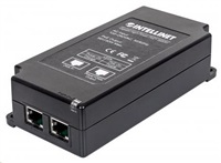Intellinet 1-port PoE+ Gigabit Power over Ethernet Injector, 1x 30W, 802.3at/af