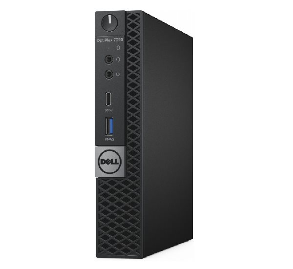 DELL OptiPlex MFF 7050 i5-7500T/8GB/128GB SSD/Intel HD 630/Win 10 Pro/VPro/3Yr