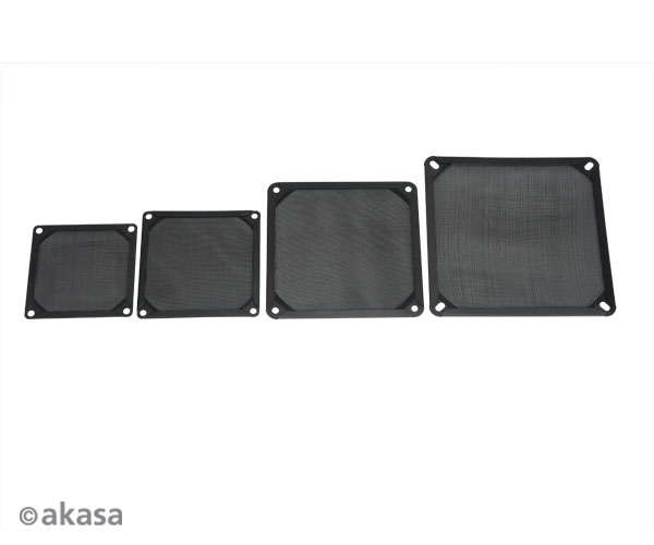 AKASA 9.2cm Aluminium fan filter