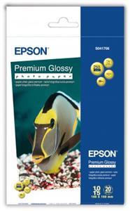 EPSON Paper Premium Glossy Photo 10x15,255g(20lis)