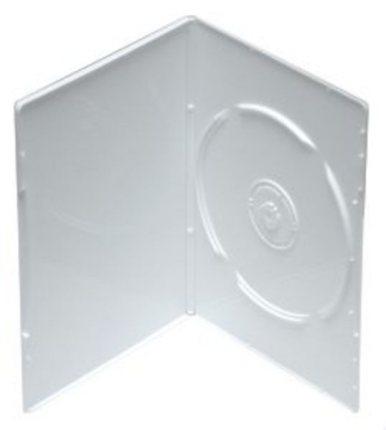 Krabička na 1x DVD - 14mm bílá, netransparentní
