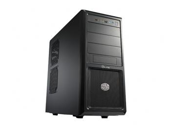 CoolerMaster case Elite 370,ATX,black,bez zdroje