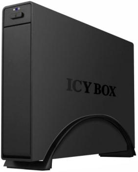 Icy Box External 3,5'' HDD Case USB3.0, Black