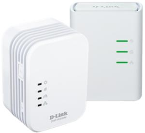 D-link DHP-W311AV/E PowerLine AV 500 Wireless N Mini Extender, QoS, Common Connect Button, WPS starter kit