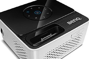 BenQ DLP Mini Projektor GP3/WXGA/300ANSI/10 000:1/HDMI/USB/3D/2x2W repro