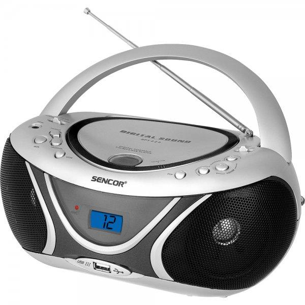 Radiopřijímač Sencor SPT 227 S s CD / MP3 / USB