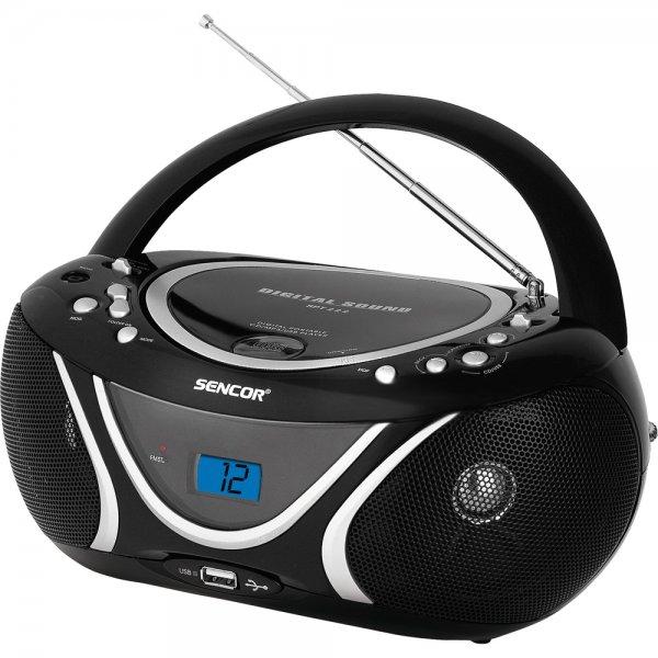 Radiopřijímač Sencor SPT 227 B s CD / MP3 / USB