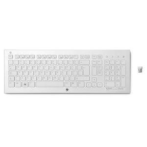 HP klávesnice K5510 bezdrátová, bílá, CZ