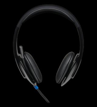 Logitech USB Headset H540, integrovaný ekvalizér, ovládání na sluchátku