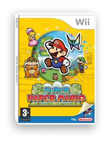 Nintendo Wii hra Super Paper Mario Nintendo Select