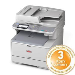OKI MC332dn A4 22/20 ppm ProQ2400dpi, PCL/PS, RADF, USB 2.0 LAN, (Print/Scan/Copy/)