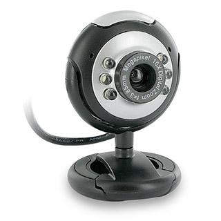 4World Internetová kamera 2.0MP USB 2.0 s LED podsvícením + mikrofon, univerzá