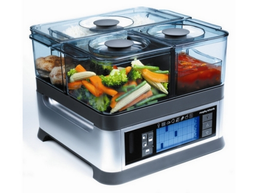 Parní hrnec Morphy Richards 48780 INTELLISTEAM