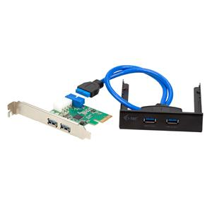i-Tec PCIe Card 4x USB3.0 SET (2x externí + 2x interní + front panel 2port)