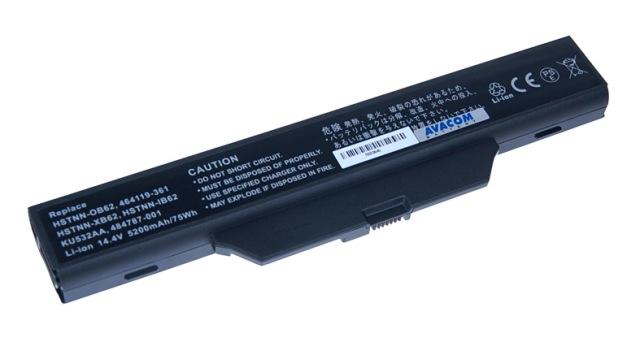 Náhradní baterie AVACOM HP Business 6730s, 6830s, HP 550 Li-ion 14,4V 5200mAh /75Wh