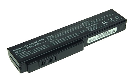Náhradní baterie AVACOM Asus M50, G50, N61, Pro64 Series Li-ion 11,1V 5200mAh/58Wh black
