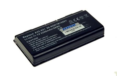 Baterie AVACOM NOAS-X51-806 pro Asus X51, X58 series A32-X51, A32-T12 Li-Ion 11,1V 5200mAh/58Wh