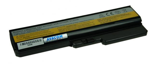 Náhradní baterie AVACOM Lenovo G550, IdeaPad V460 series Li-ion 11,1V 5200mAh/58Wh