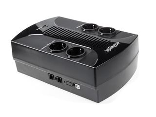 Energenie Floor UPS power cube 650VA LED s AVR, 4X SCHUKO 230V OUT