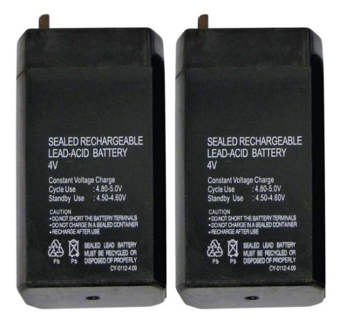 Emos baterie 4V / 0.7 Ah, 2 kusy