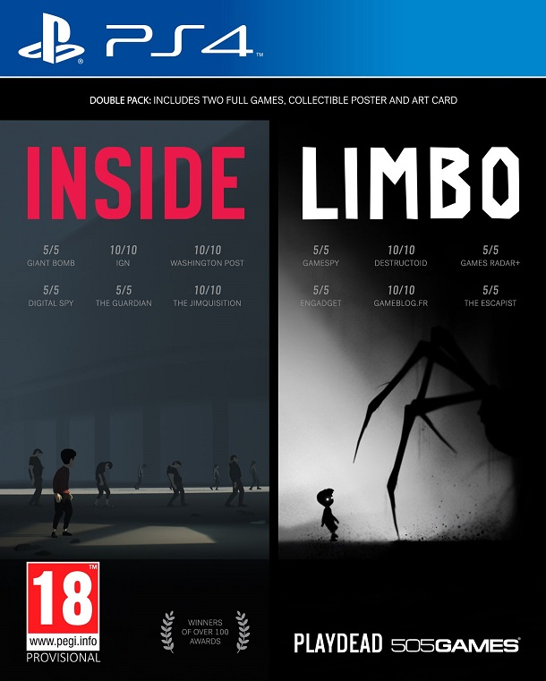 PS4 - INSIDE/LIMBO Double Pack