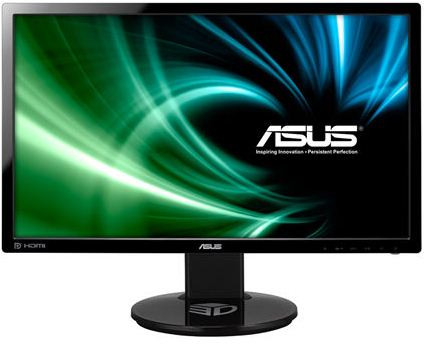 """ASUS MT 24"""" VG248QE 1920x1080, LED, Dual-link DVI, HDMI, DP, 1ms, 350cd, VESA 100x100, black, repro"""